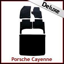 PORSCHE CAYENNE 2003... 2009 Tailored LUSSO 1300g auto e le stuoie di avvio (OVAL clip)
