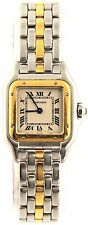 RARE VINTAGE LADIES CARTIER PANTHERE 18K GLD WATCH W25027Q5