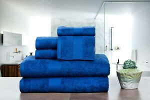 6 or 18 PACK 100% Cotton TOWEL SETS, Wash Cloth, Hand, Bath Towel by Ample Decor