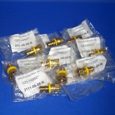 MOTION INDUSTRIES 1/2 IN. I.D. HYDRAULIC FITTINGS, 2111-08-08-B *NEW LOT OF 9*