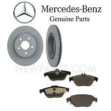 sin almohadillas Mercedes Sprinter 2006-2013 Delantero Y Trasero Discos De Freno Nuevo