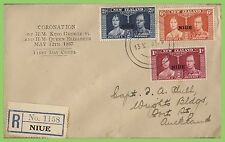 George VI (1936-1952) First Day Cover Niue Stamps (Pre-1974)