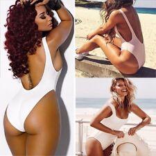 New Women One-Piece Swimsuit Beachwear Swimwear push up Padded monokini bikini S