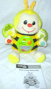 VTECH TOUCH AND LEARN MUSICAL BEE LIGHT-UP DAY/NIGHTTIME BABY DEVELOPMENTAL TOY