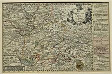 J. M. Probst, Der bayerische Creis, Augsburg um 1760 Kupferstich altkoloriert