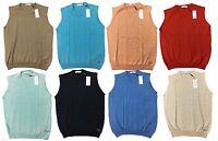 Calvin Klein CK Golf Merino Wool Sleeveless Sweater Tank Top Vest M L XL XXL
