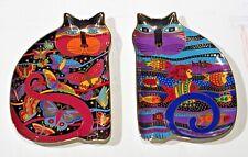 New listing • Laurel Burch 1995 Royal Doulton Cat Plates 24 Karat • Great Condition •