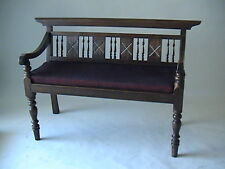Contemporary Wooden Bench/Sofa in Brown Colour