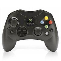 Microsoft OEM Controller S-Black For Xbox Original Very Good 9Z