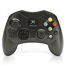 Microsoft OEM Controller S-Black For Xbox Original Very Good 9Z
