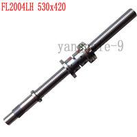 1Set CNC Lathe Part Grind Ball Screw & Nut X Axis FL2004LH 530x420