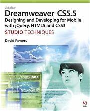 Adobe Dreamweaver CS5.5 Studio Techniques: Designing and Developing fo-ExLibrary