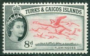 Turks & Caicos Islands Scott #129 MNH Flamingo Birds FAUNA CV$3+
