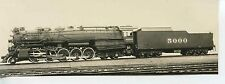 7E550 RP 1930s? AT&SF SANTA FE RAILROAD ENGINE #5000