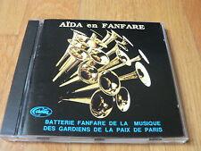 Aida en Fanfare - Musique des gardiens de la paix de Paris - CD Corelia 1992