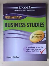 Excel HSC Business Studies by Robert Barlow (Paperback, 2012)