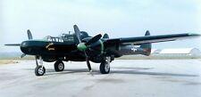 Northrop P-61 Black Widow Night Fighter Aircraft Mahogany Wood Model Large New