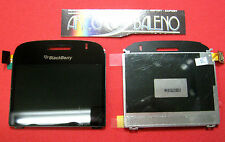 DISPLAY LCD +VETRO PER BLACKBERRY BOLD 9000 CODICE 002-004 VETRINO COVER NERO