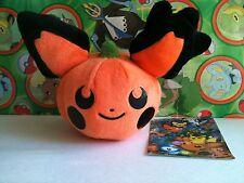 Pokemon Center Plush Pokedoll Pikachu 2009 Doll figure Halloween Pumpkin Toy