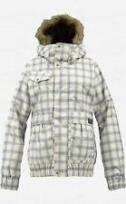 Burton Tabloid Snowboard Jacket (M) Canvas Prepster Plaid
