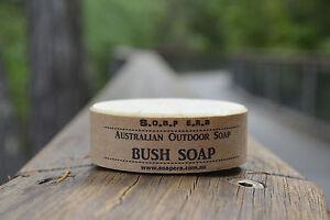 1 x Aussie Bush Soap- 100% Coconut oil Castile Outdoor Soap works in sea water