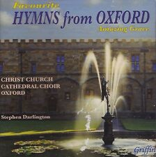 """[NEW] CD: FAVOURITE HYMNS FROM OXFORD: """"AMAZING GRACE"""""""