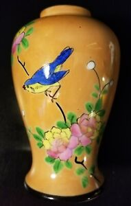 Vintage Hand Painted Bird Planter by Royal in Japan