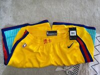 Nike Dry Golden State Warriors Swingman City Edition Jersey Shorts XL Curry CNY