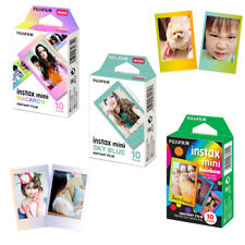 Fujifilm Instax Mini Rainbow/Macaron/Sky Blue 30Pcs Film - 8 9 25 50s 70 Camera