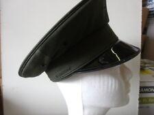 Uniform Round Hat - Dark Green - Lancaster Brand 100% WOOL Size 6 1/2 (A925)