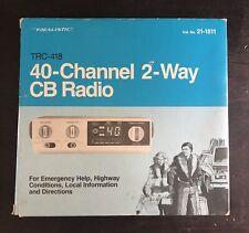 Brand New Vintage Realistic TRC-418 40-Channel 2-Way CB Radio