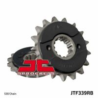 JT Rubber Cushioned Front Drive Motorcycle Sprocket JTF339RB 17 Teeth