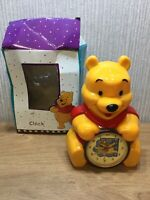 Disney Winnie The Pooh Clock New Alarm Clock Collectable Large 8 Inch