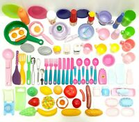 Bundle Lot Of Childrens Role Play Toys Pretend Food Kitchen Cooking Toys