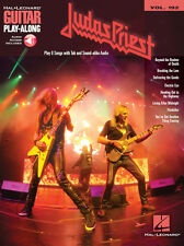 Judas Priest Guitar Play Along 8 Songs! Tab Book NEW!