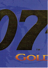 JAMES BOND GOLDENEYE JAMES BOND CARD JB2