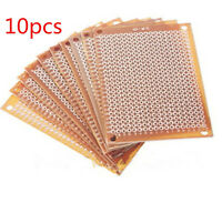 10PCS DIY Prototype Paper PCB 5x7cm Universal Board Circuit Board BREADBOARD New
