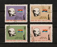 (YYAZ 546) Vietnam Viet Cong 1970 USED Mich 23 - 26 NLF NLFSV Vladimir Lenin