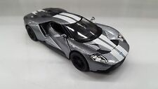 2017 Ford GT silver car model kinsmart TOY 1/38 scale diecast present gift
