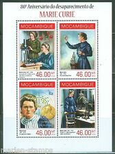 MOZAMBIQUE 2014 80th MEMORIAL  ANNIVERSARY OF MARIE CURIE  SHEET  MINT NH