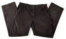ETRO Brown Corduroy Flat Front Pants Sz 50 / US 34 $320