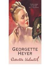 Detection Unlimited,Georgette Heyer- 9780099550433