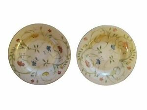 """American Simplicity Floral 11 1/4"""" Dinner Plates Target Home Set Of 2"""