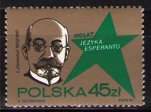 Poland 1987 Sc2811 Mi3104 1v  mnh  Esperanto Language, Cent.