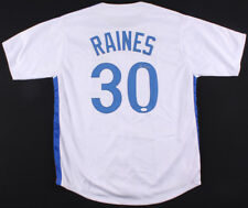 Tim Raines Signed Montreal Expos Jersey (JSA COA) 7× All-Star (1981–1987) O.F.