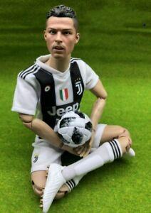 "Real Masterpiece 1/6 Soccer Football Star Cristiano Ronaldo 12"" Action Figure"