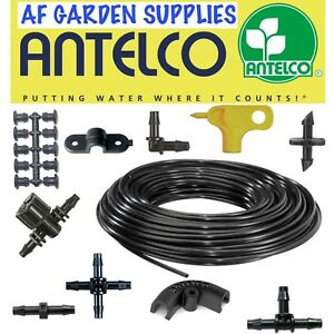 4mm Fittings Micro Irrigation Barbed Connectors Garden Watering Pipe Antelco
