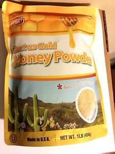 Cactus Gold HONEY POWDER 16 OZ (1 LB ) EXP: JULY 2023 Resealable Package