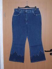 Damen Jeans Jeanshose blau jeansblau Grösse 46 L30 leicht ausgestelltes Bein neu
