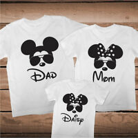 Matching Mickey Minnie Mouse Tees Family Funny T-Shirts Custom Family, cc99